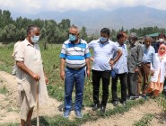 Director Agriculture Kashmir reviews ongoing developmental programs in Bandipora