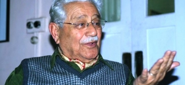 Kashmir's noted educationist Agha Ashraf Ali dies at 98