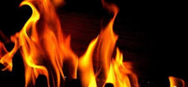 SDH Tangmarg partially damaged by fire