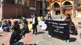Leh shuts down to protest against BJP leader's remarks on call to boycott hill council polls