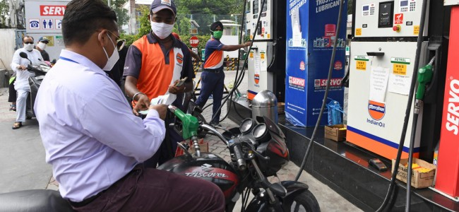 Petrol prices hiked again, diesel prices down for first time in 3 months
