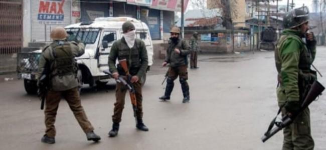 One militant killed in Anantnag gunfight operation underway