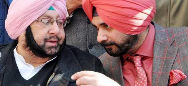 Looking to 'sink differences', Punjab CM Capt Amarinder invites Navjot Sidhu for lunch