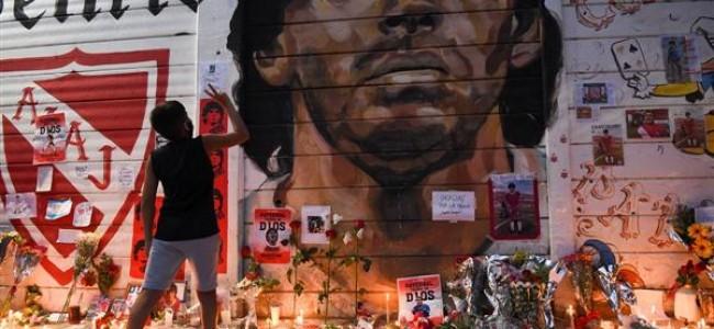 Argentina declares three-day national mourning for Maradona