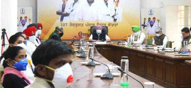 Second Covid wave striking Punjab is a certainty, says Amarinder