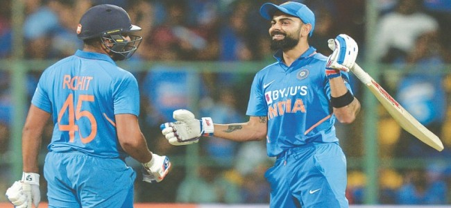Calls for Sharma to replace Kohli as India T20 skipper
