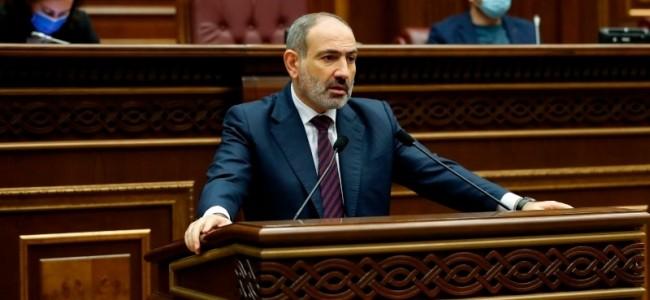 Armenian leader calls for halt to violence over peace deal after attempt on life