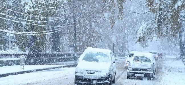 Kashmir Valley Receives Fresh Snowfall, Minimum Temperature Rises