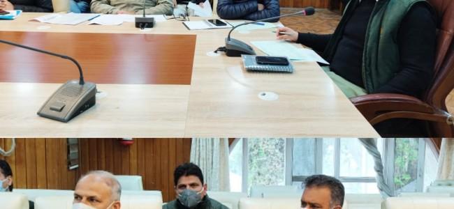 DC Srinagar reviews progress of Mega Developmental projects