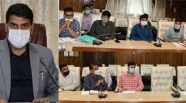 DDC Srinagar reviews progress of Ring Road Project