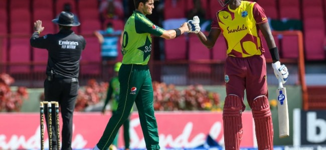 West Indies, Pakistan T20 series suffers second washout