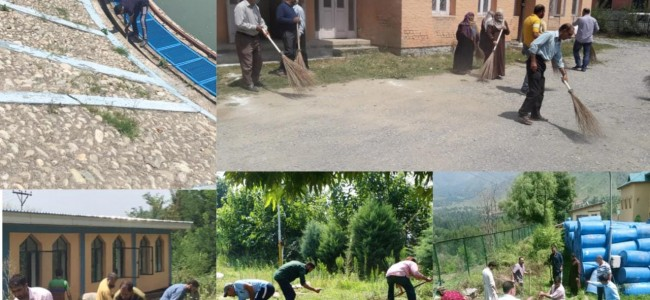 Srinagar admin launches special drive for cleaning of water supply treatment plants, reservoirs