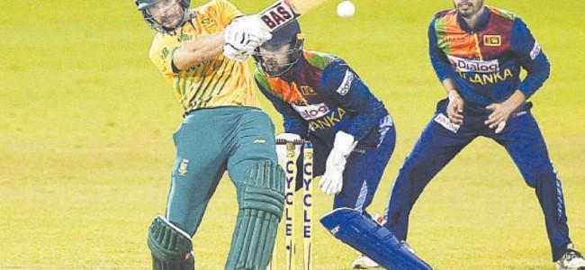South Africa demolish SL to sweep T20 series