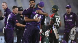 Scotland shocks Bangladesh with 6-run win in T20 World Cup