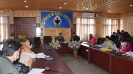 Director RD Kashmir chairs review meeting of District Srinagar