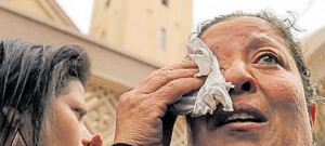 IS bombs churches in Egypt during mass; 43 lives lost
