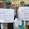 Medical Collage Students Protest.Pic by: Mudasir Khan