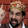 Government has waged war against unarmed Kashmiris :Mirwaiz