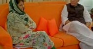 Mehbooba could not extract the promise of talks with Hurriyat