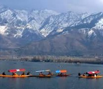 Dal lake in Summers