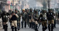 It is war between students and police in Srinagar