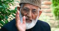 Geelani says government has reduced educational institutions to battle fields