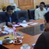 Shantmanu reviews preparation of Panchayat Electoral Rolls
