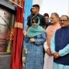 Mehbooba dedicates Rs. 78 cr Bikram Chowk flyover to people