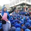Kargil students protest against political interference in institutions.demand basic Facilities.