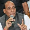 Will not go against sentiments of people,Rajnath on Article 35A
