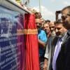 Altaf Bukhari lays foundation of Municipal Shopping Complex at HSHS