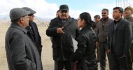 Chief Secretary leads high level team to Leh to take stock of development works/schemes