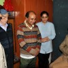 Naeem Akhtar offers personal felicitations to KAS qualifier Neha Pandita