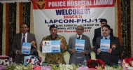 DGP inaugurates CME & Live Surgical Workshop on Minimal Access Surgery at Police Hospital Jammu
