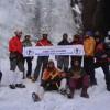 Tourism deptt organizes ice-climbing at Phrislan