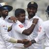 Sri Lanka v Bangladesh: Rangana Herath passes Wasim Akram in series win