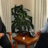 Finance and Education Minister meets Governor