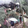 Rains lash Valley, windstorm damage two houses in Baramulla