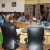 Governor reviews developmental works of Leh