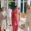 Sharmila Tagore meets Governor and First Lady