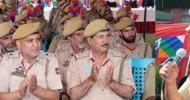 DGP interacts with officers, Jawans at DPL Srinagar, addresses Darbar