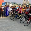 Sports Department's Maiden Cycling Expedition Flagged off