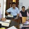 Dr Jitendra reviews progress on Devika Rejuvenation Project