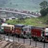 Traffic suspended on Srinagar-Jammu highway due to landslide