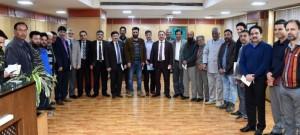 KTMF delegation calls on J&K Bank Chairman