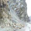 Massive landslide blocks Kashmir highway