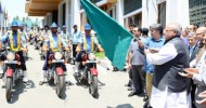 Governor flags off new motorcycle squad of Traffic Police