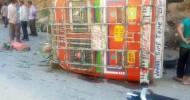 18 Injured As Mini Bus Turns Turtle In Kishtwar