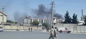 Powerful Blast Rocks Afghan Capital, Injures Dozens