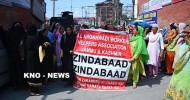 Anganwadi workers, helpers continue protests against SAC decision